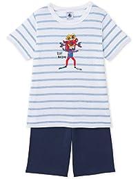 Petit Bateau Jungen Zweiteiliger Schlafanzug Pyjacourt_23838