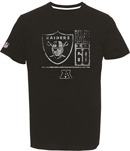 NFL Football T-Shirt OAKLAND RAIDERS established 1960 Roedy in MEDIUM (M)