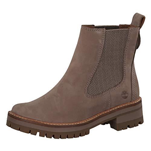 Timberland Unisex-Erwachsene Courmayeur Valley Chelsea A1j66 Klassische Stiefel, Grau, 39 EU -