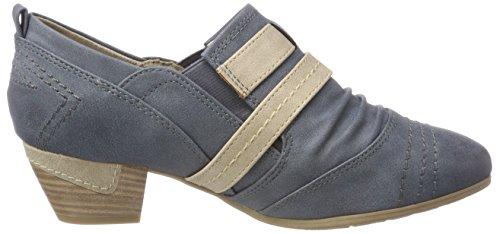 Softline 24365, Mocassini Donna Blu (Jeans)