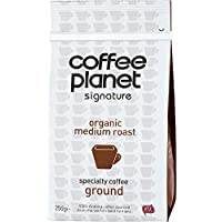 Coffee Planet Organic Medium Roast Ground (250 gm)