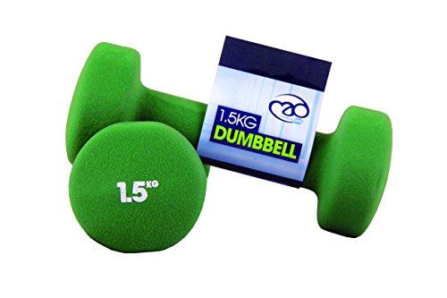 Fitness mad manubri neoprene 1.5kg (pair)