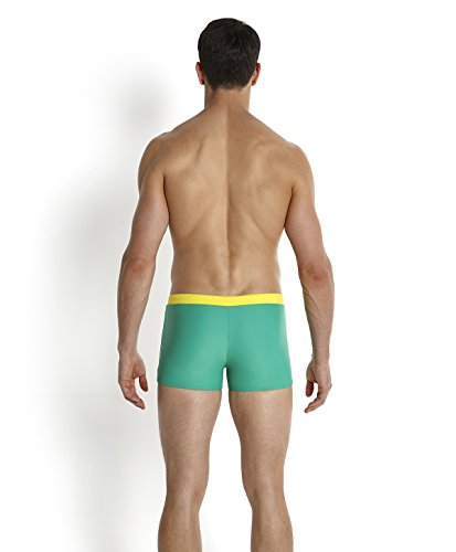 Speedo Herren Badeanzug Valmilton Digiscale Aquashorts Venom/Empire Yellow