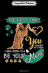 Composition Notebook: Irish Setter The First Time You Touched Me I Knew I Was Born  Journal/Notebook Blank Lined Ruled 6x9 100 Pages