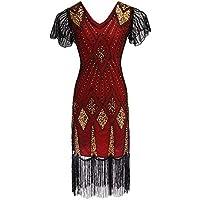 83e7da3afc Amazon.es  vestido fiesta mujer largo boda talla grande - Rojo ...
