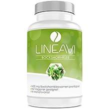 Alholva LINEAVI | 400 mg de semillas puras de alholva (fenogreco) | contribuye a
