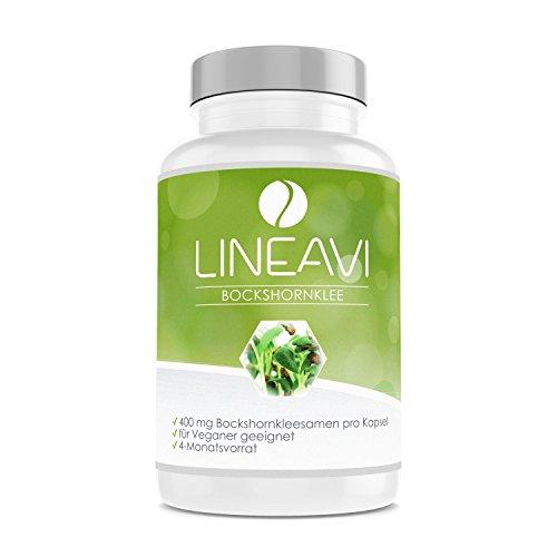❀ Alholva LINEAVI (120 cápsulas) ❀   Cada cápsula de Alholva LINEAVI contiene 400 mg de semillas de alholva molidas de alta calidad. Debido a su alta concentración, recomendamos la ingesta de una cápsula diaria. 120 cápsulas se corresponden así co...