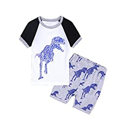 2PCS Baby Boy Clothing Sets,Minshao Toddler Baby Boy T-Shirt Vest Tops Shorts Pants Outfits Clothes Sets for 0-4 Years Old