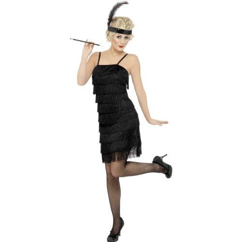 Karneval Damen Kostüm sexy Flapper 20er Jahre Charleston Größe (Sexy Flapper)