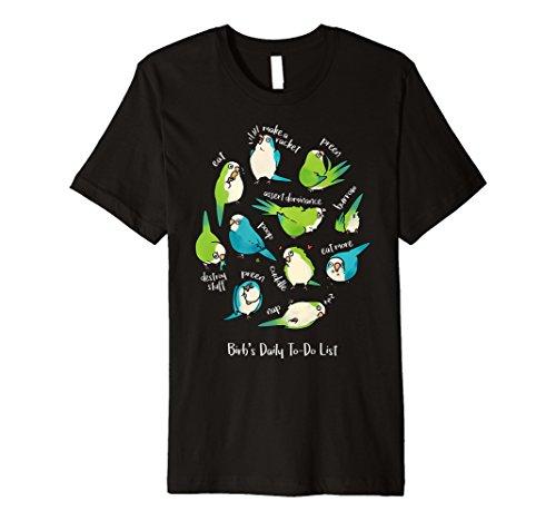 mönchsittiche Parrot | BIRB Tägliche Aufgabe der Liste T-Shirt -