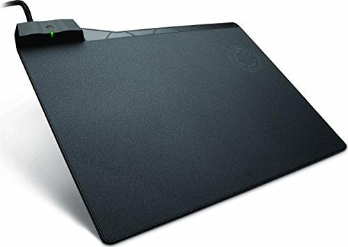 Corsair MM1000 Tapis de Souris Gaming à Recharge sans fil Qi (Moyen) Noir