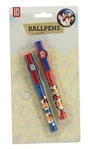 One Direction Lot de 2 stylo bille (nouveau modèle)