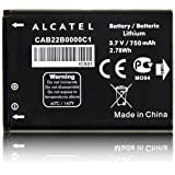 Batterie d'origine Alcatel CAB22B0000C1pour ONE TOUCH 2010, 2010d 750mAh Li-Ion Bulk