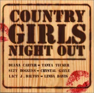 country girls night out various artists musik. Black Bedroom Furniture Sets. Home Design Ideas