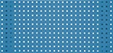 KS Tools 860.0890HB - Panel de pared, azul cielo, 1000x450mm