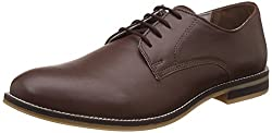 United Colors of Benetton Mens Brown (902) Leather Formal Shoes - 6.5 UK/India (40 EU)