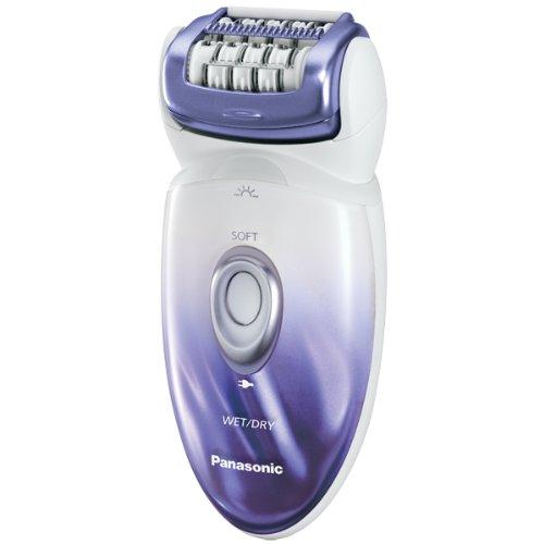 Panasonic Wet&Dry Epilateur avec 48 Pinces/2 Vitesses Violet Nacré