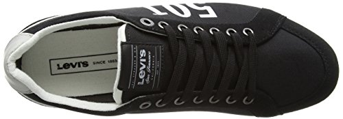 Levi's Morris 501, Baskets Basses Homme Noir (Black)