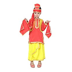 Shri Nikunj Raangoli Punjabi Boy dress/costume for kids