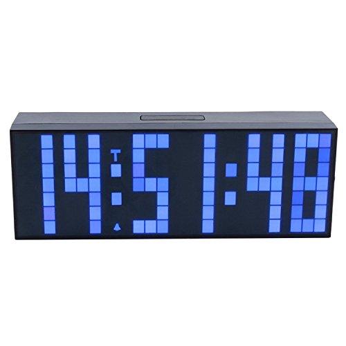 ZJchao LED reloj Digital de pared y mesa