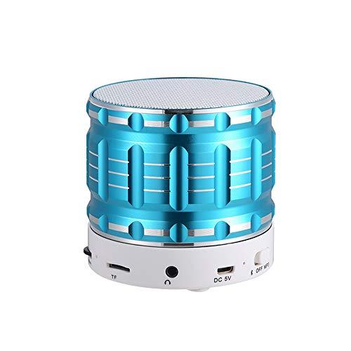 Mini Portable Bluetooth Lautsprecher Speaker mit 8 Stunden Spielzeit,Eingebautes Mikrofon,10 Meter Bluetooth Reichweite und Starkem Bass (I)