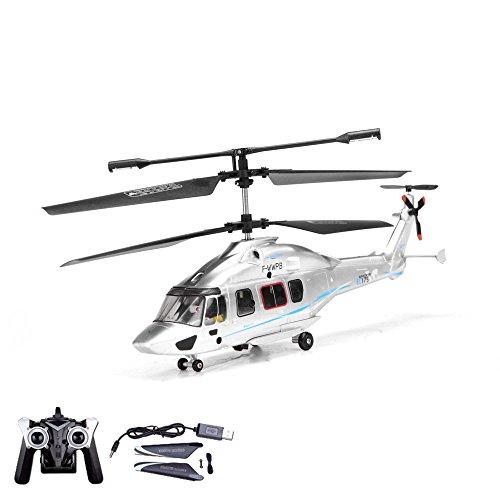 3.5 Kanal 2.4GHz RC ferngesteuerter mini Hubschrauber EC 175 Eurocopter,mit LEDs und Gyro,Crash-Kit