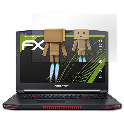 atFolix Bildschirmfolie kompatibel mit Acer Predator 17 X Spiegelfolie, Spiegeleffekt FX Schutzfolie