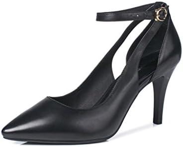 MUMA Zapatos de tacón Ms Zapatos de tacón alto Stilettos Wedding Graduation Jobs Zapatos de novia 8cm Heel (Color...