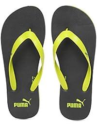 Puma Unisex's Odius V2 Idp Iron Gate-limepunch Flip-Flops