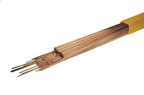 Safrabraze W.0903 CZ6A (C2) - Barra de latón (1,6 mm de diámetro), color bronce