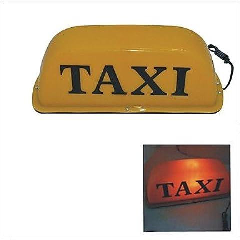 LIROOTBase magnetica Taxi Tetto Cabina segno lampada luce gialla-12V