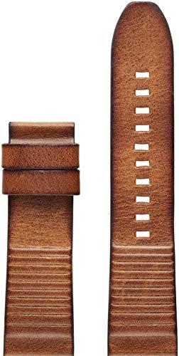 Diesel Unisex Erwachsene Leder Uhrenarmband DZT0003