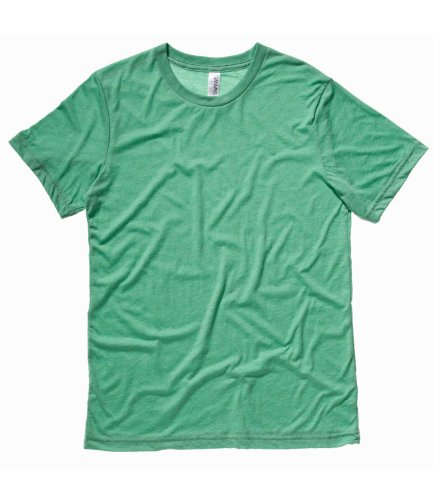 Bella CanvasHerren T-Shirt Grün - Green Tri-blend