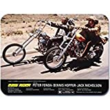 Easy Rider MauspadMaus Pad mit dem Bild des Kult-Film-Posters.Motorrad.