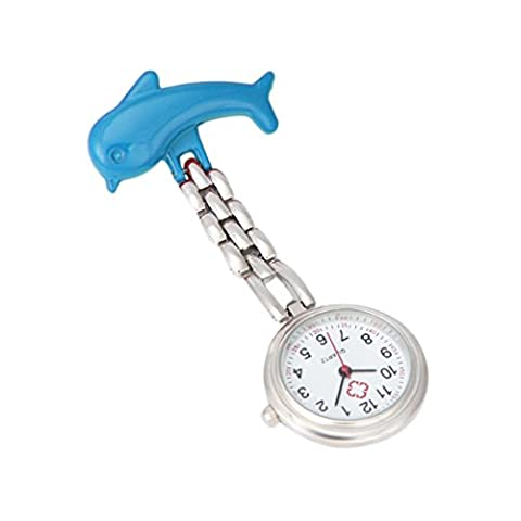 Brooch Pocket Watch,Omiky® Clip-on Nurse Watch Fob Watch with Lapel