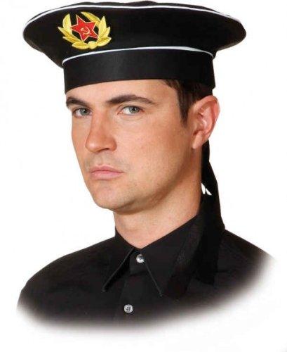 Mütze russische Marine, Kopfweite:56