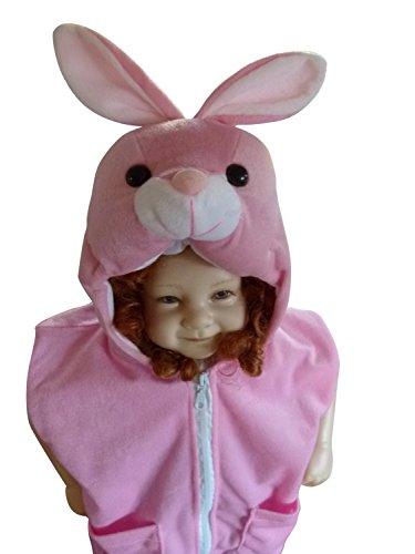 enkostüm Hasenkostüme Baby Häschen Fasching Karneval (Baby-rosa-häschen-kostüm)