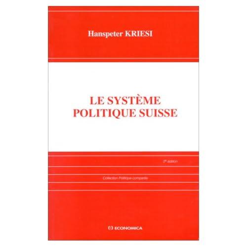 Le système politique suisse