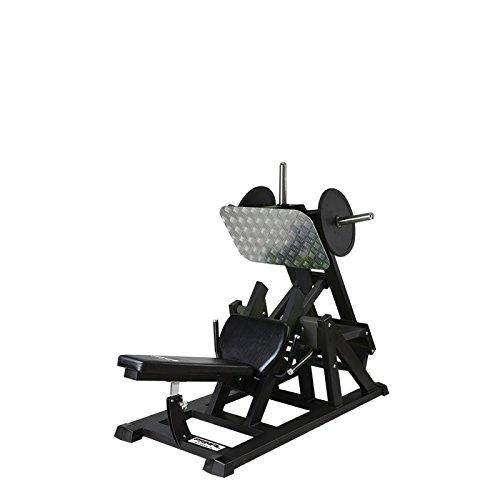 Primal Stärke Alpha kommerziellen Fitness Elite ISO Steigung Beinpresse matt Nero/Grigio