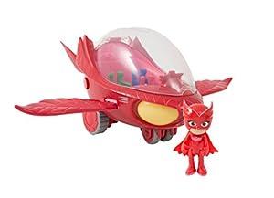 Giochi Preziosi PJ Masks PJM105 vehículo de Juguete - Vehículos de Juguete (Rojo, Juego de vehículos, Interior, Niño/niña, China, AAA)