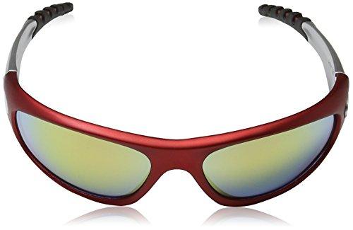 X-Loop Sonnenbrillen - Sport - Radfahren - Skifahren - Squash - Motorradfahrer/Mod. 2610 Rot Grau GK98cbOdu