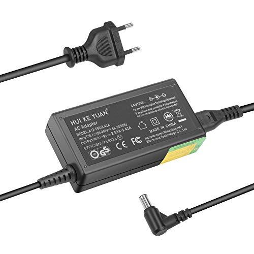 TÜV HKY 19V Netzteil Ladegerät Ladekabel für LG Electronics 19'' 20'' 22'' 23'' 24'' 27'' LED LCD Monitor Widescreen HDTV, LG 20EN33S 20EN33SS ADS-40FSG-19 EAY62710704 EAY62768621 EAY62790007 IPS236V 19 Widescreen Lcd-tv
