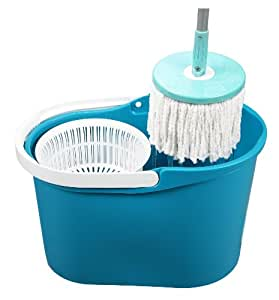 Best Spin Mop (no steps needed). The Orignal & Patented Spin & Go Pro Mop - 360 Degree Spinning Mop & Bucket w/ Spin Cycle Technology (no steps needed). Authentic & Patented Build w/ Highest Quality (made in Taiwan, not China). As Seen on TV (QVC)