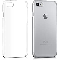 kwmobile Coque Apple iPhone 7 / 8 - Coque pour Apple iPhone 7 / 8 - Housse protectrice en plastique rigide transparent