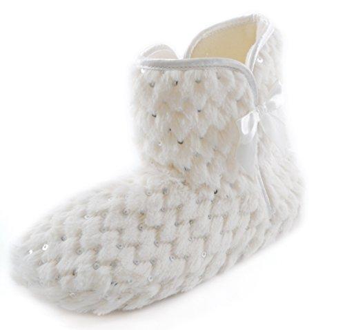 Slumberz, Pantofole donna Bianco (bianco)