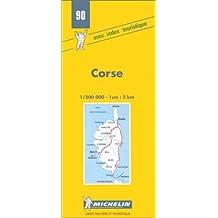Carte routière : Corse, 90, 1/200000