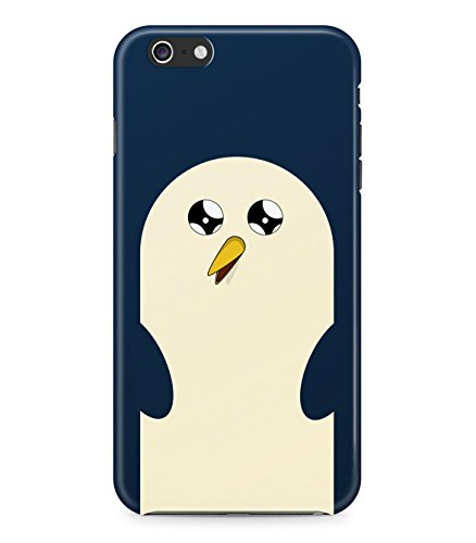 Adventure Time Gunter The Penguin Face Hard Plastic Snap On Back Case Cover For Iphone 6 Custodia