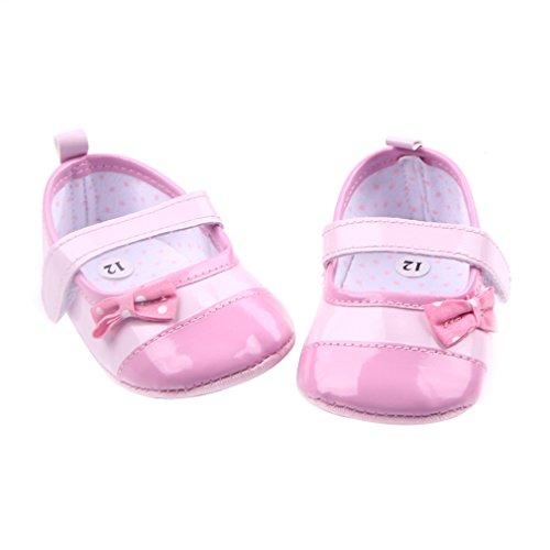 Festlich Babyschuhe Ballerinas Schuhe Lauflernschuhe Mädchen Eozy Pink vwIPv