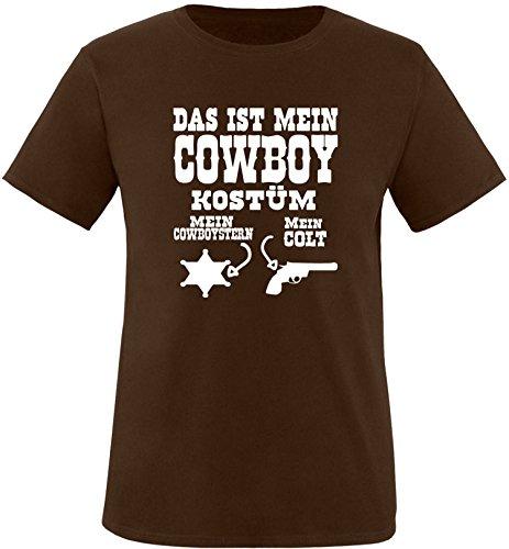 Luckja Das ist mein Cowboy Kostüm Herren Rundhals ()