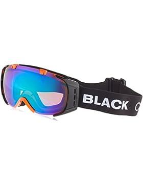 Black Crevice Máscara de Esquí Warh Negro/Naranja